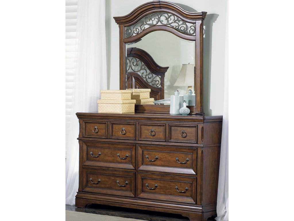 Shown with Optional Drawer Dresser