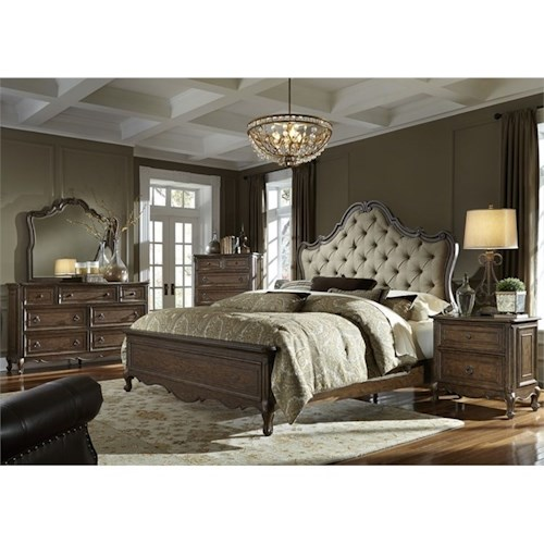 Liberty Furniture Lorraine Queen Bedroom Group