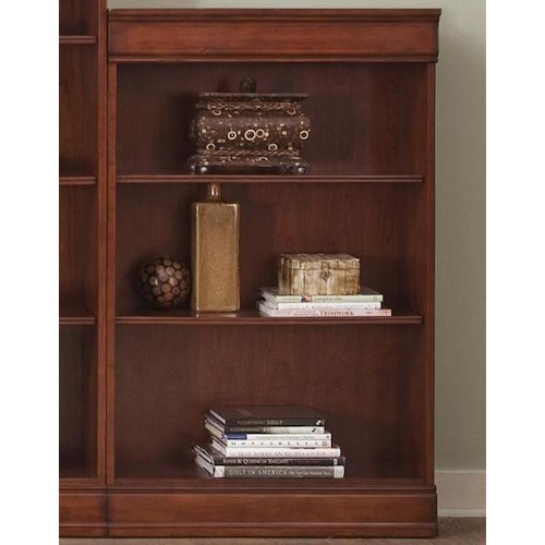 Vendor 5349 Louis Jr Bookcase Transitional Jr Executive 48 Inch Bookcase
