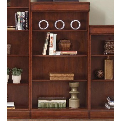 Liberty Furniture Louis Jr Bookcase Transitional Jr Executive 60 Inch Bookcase