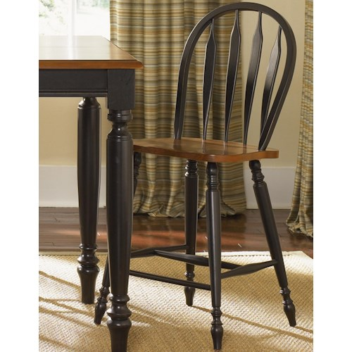 Liberty Furniture Low Country Windsor Bar Stool