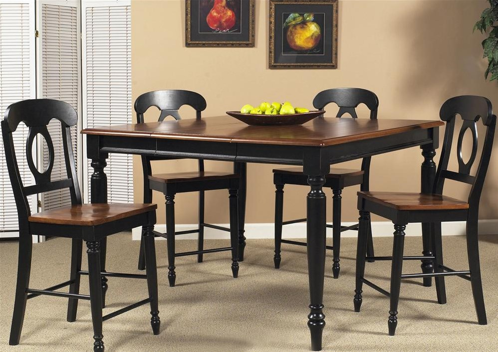 Shown with Four Matching Barstools