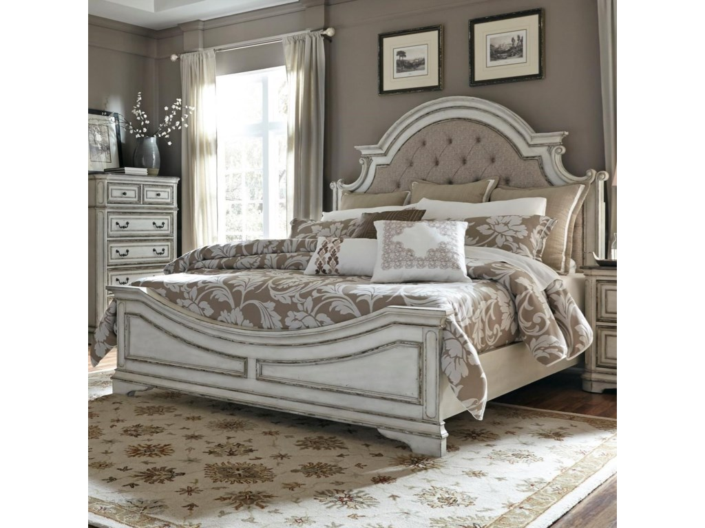 Liberty Bedroom Furniture Liberty Furniture Magnolia Manor King Upholstered Bed Great