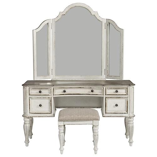 Liberty Furniture Magnolia Manor Bedroom Vanity Set