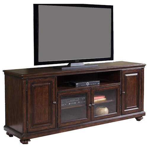 Liberty Furniture Martinique Four-Door Entertainment TV Stand