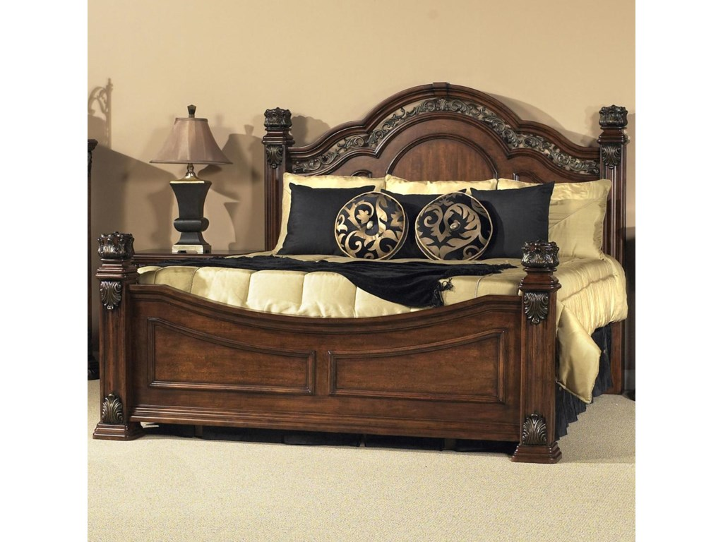 Liberty Furniture Bedroom Liberty Furniture Messina Estates King Poster Bed Zaks Fine