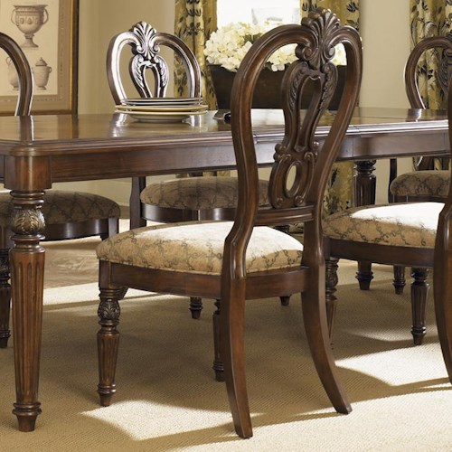 Liberty Furniture Messina Estates Splat Back Dining Side Chair