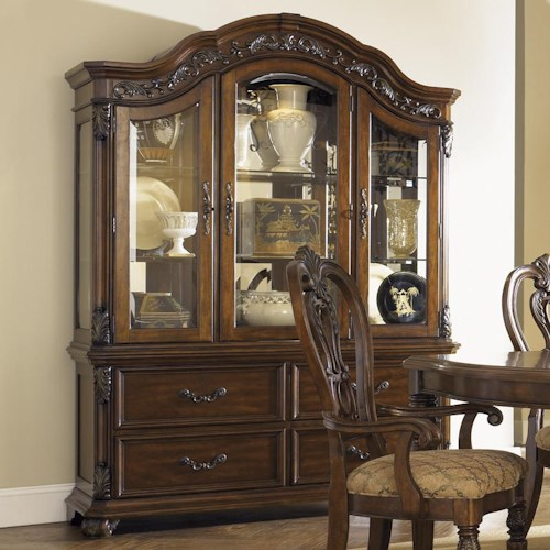Liberty Furniture Messina Estates Arch Top China Cabinet