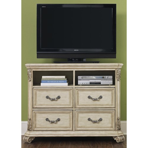 Liberty Furniture Messina Estates II Entertainment Chest w/ 4 Drawers