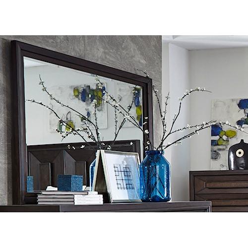 Liberty Furniture Midtown Bedroom Wide Landscape Dresser Mirror