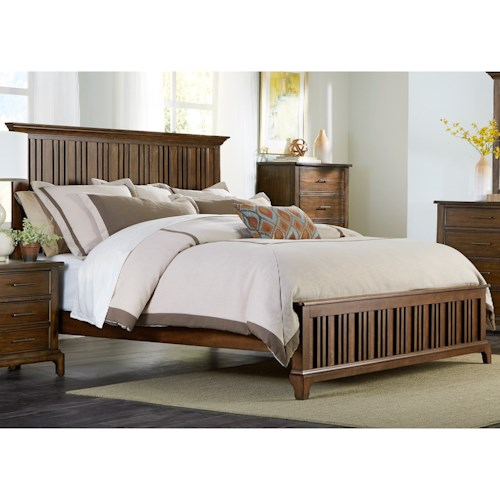 Liberty Furniture Mill Creek 458 King Panel Bed