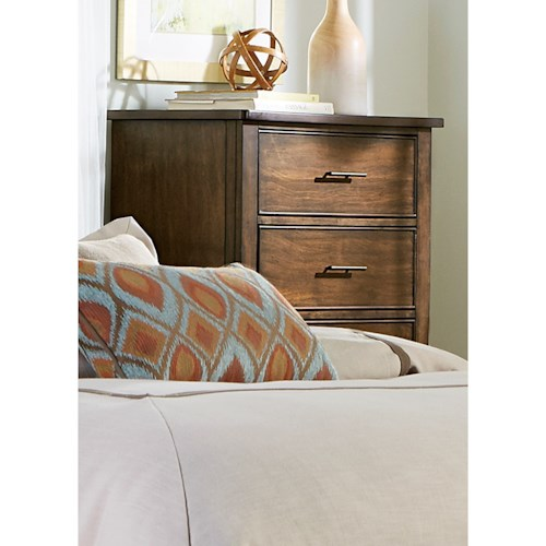Liberty Furniture Mill Creek 458 Chest with Five Dovetail Drawers