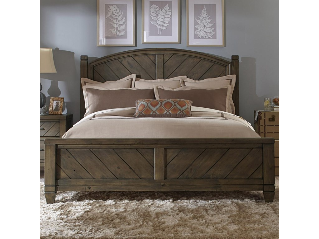 Liberty Bedroom Furniture Liberty Furniture Modern Country Casual Rustic Queen Poster