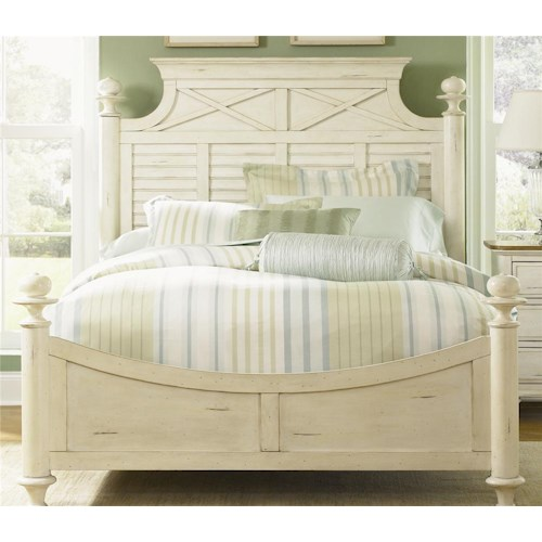 Liberty Furniture Ocean Isle  King Poster Bed