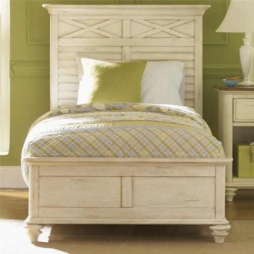 Liberty Furniture Ocean Isle  Full Panel Bed
