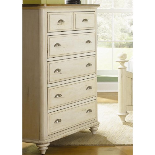 Vendor 5349 Ocean Isle  5 Drawer Chest