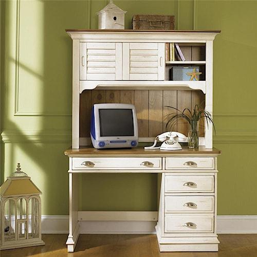 Vendor 5349 Ocean Isle  Student Desk & Hutch