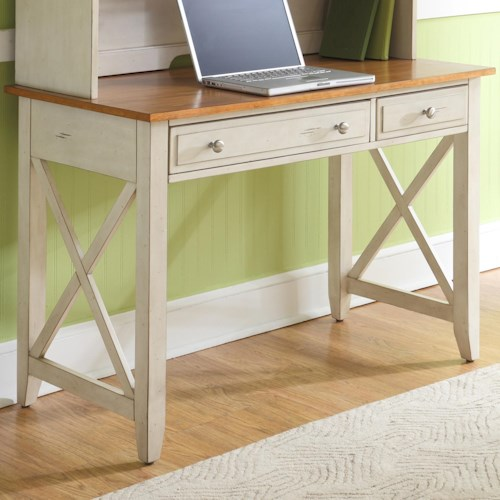 Liberty Furniture Ocean Isle  Writing Desk with Two Drawers