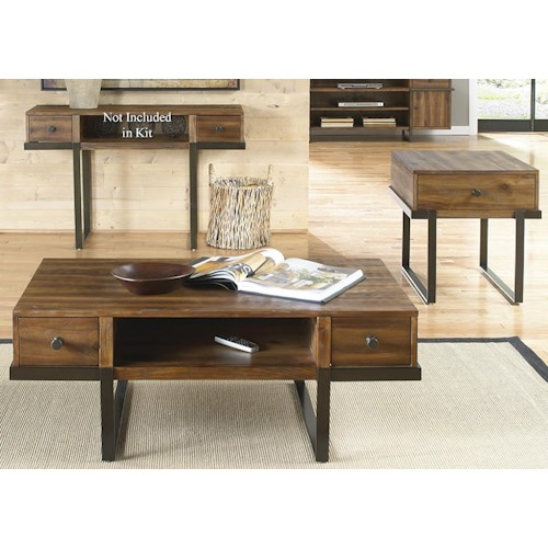 Liberty Furniture Paxton Three Piece Occasional Table Group