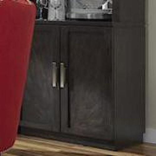Liberty Furniture Platinum Contemporary Bunching Shelf Curio