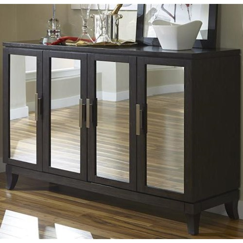 Liberty Furniture Platinum Contemporary 4 Door Server
