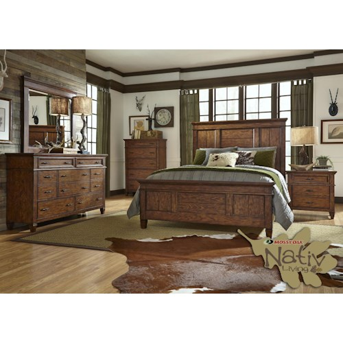 Liberty Furniture Rocky Mountain 616 King Bedroom Group