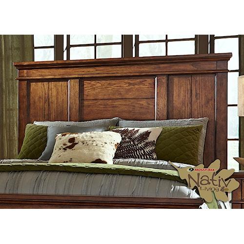 Liberty Furniture Rocky Mountain 616 King Panel Headboard