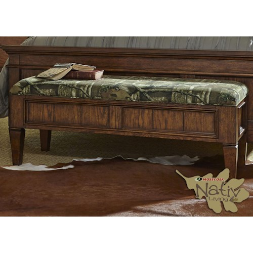 Liberty Furniture Rocky Mountain 616 Bed Bench
