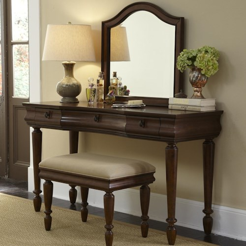 Vendor 5349 Rustic Traditions Vanity Set with Turned Legs