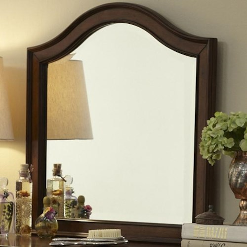 Vendor 5349 Rustic Traditions Vanity Deck Arched Mirror
