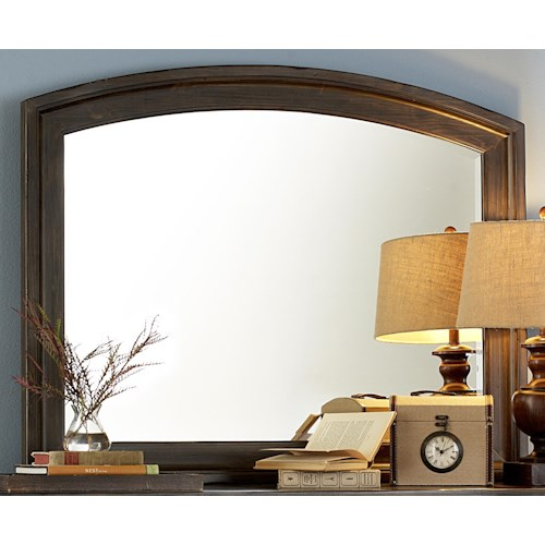 Liberty Furniture Southern Pines Mirror for Dresser made of Solid Wood