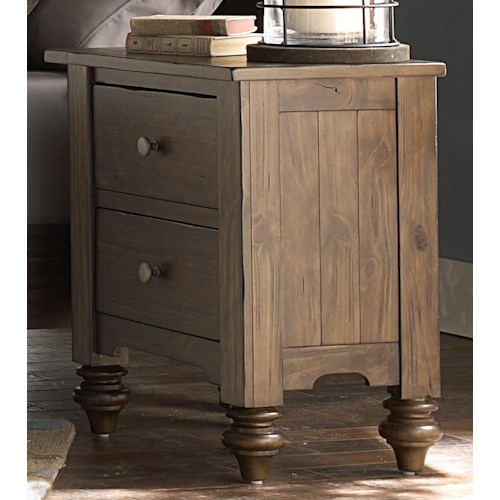 Vendor 5349 Southern Pines Nightstand made of Solid Pine