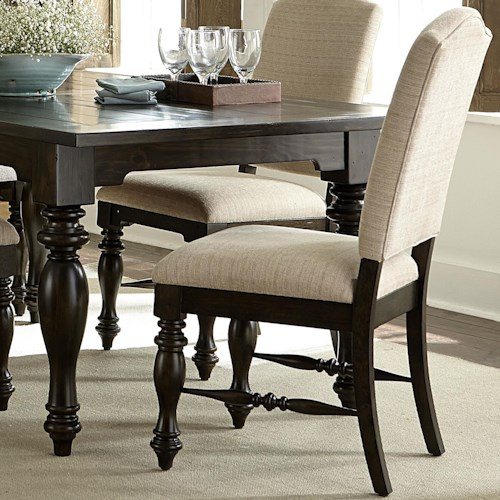 Liberty Furniture Southern Pines Upholstered Dining Side Chair