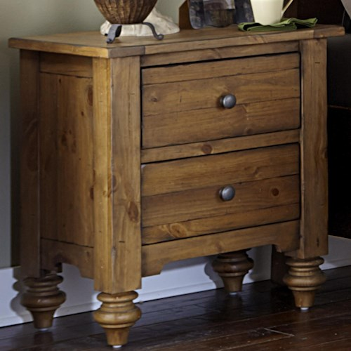 Liberty Furniture Southern Pines Nightstand made of Solid Pine