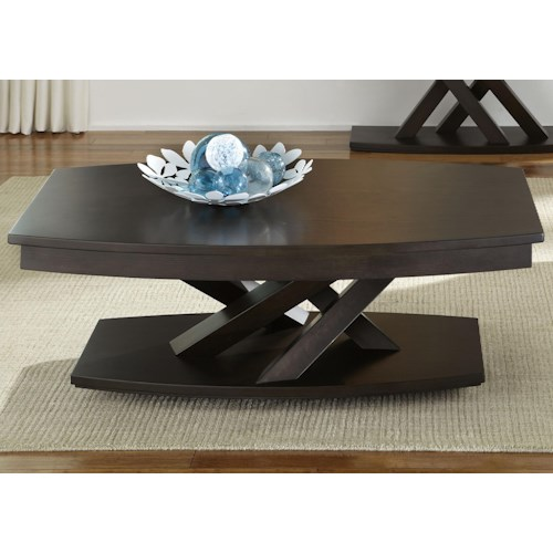 Liberty Furniture Southpark Cocktail Table with Casters