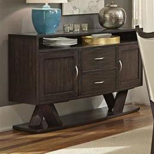 Liberty Furniture Southpark Contemporary 2 Door Server