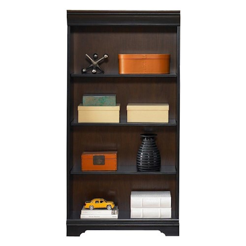 Vendor 5349 St. Ives Traditional 60-Inch Executive Open Bookcase