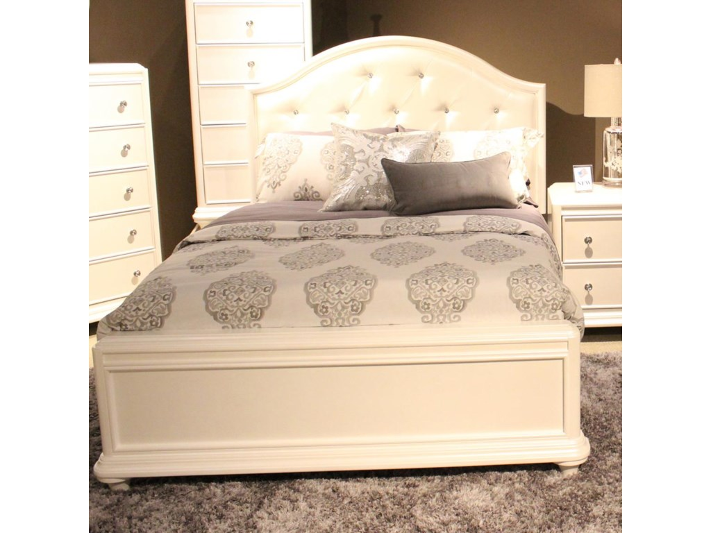Bed Shown Includes Headboard Only. Footboard and Rails Sold Separately