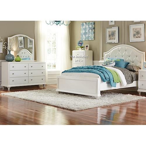 Vendor 5349 Stardust Bedroom Group