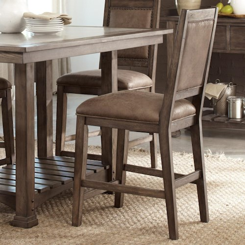 Vendor 5349 Stone Brook Casual Upholstered Counter Chair