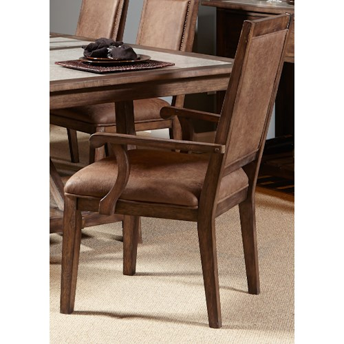 Liberty Furniture Stone Brook Casual Upholstered Arm Chair