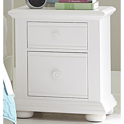 Liberty Furniture Summer House Cottage 2 Drawer Night Stand