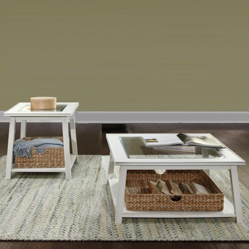 Liberty Furniture Summerhill 3 Piece Occasional Table Group