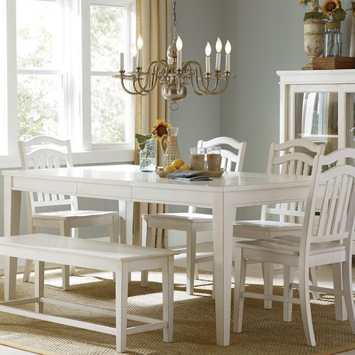 Vendor 5349 Summerhill Rectangular Leg Dining Table