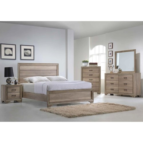 Liberty Furniture Sun Valley 439 King Bedroom Group