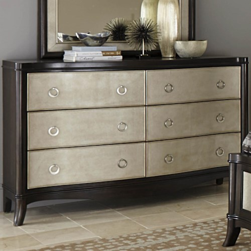 Vendor 5349 Sunset Boulevard Dresser with 6 Drawers
