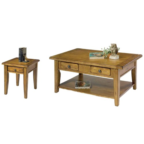 Liberty Furniture Treasures  3 Piece Occasional Table Set