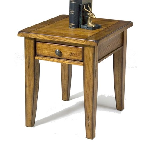 Liberty Furniture Treasures  End Table w/ 1 Drawer
