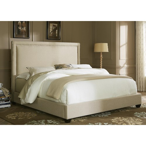 Vendor 5349 Upholstered Beds Queen Upholstered Panel Bed