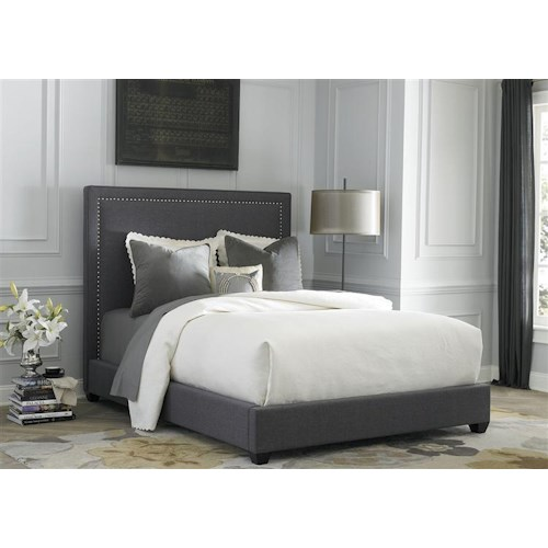 Liberty Furniture Upholstered Beds Queen Upholstered Panel Bed
